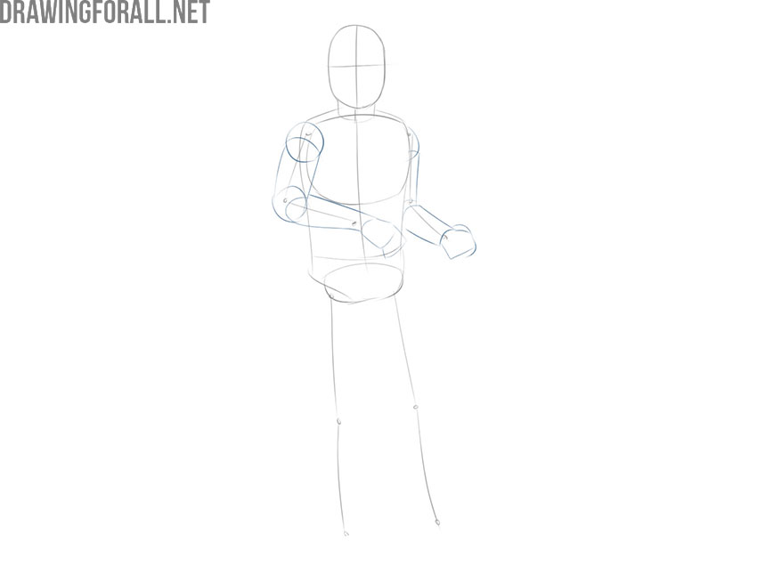 How to draw Boba Fett step by step easy