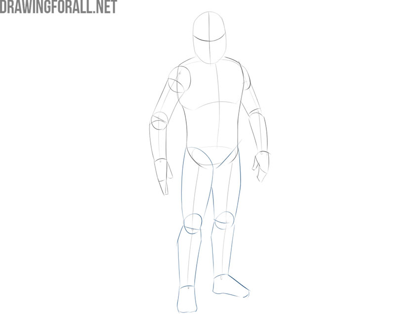 How to draw Jango Fett from Star Wars