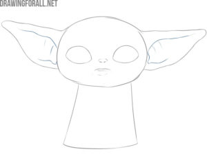 How to draw baby Yoda meme