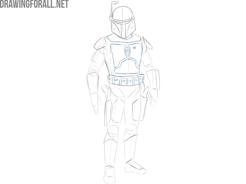 Jango Fett drawing