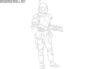 boba fett drawing tutorial