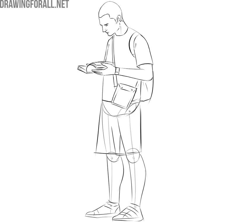 Drawing tourist