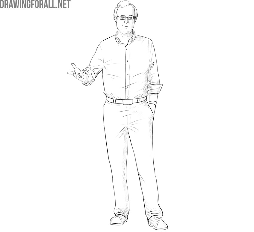 How to Draw a Professor