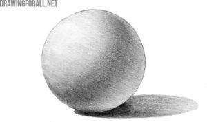 Ball light and shadow
