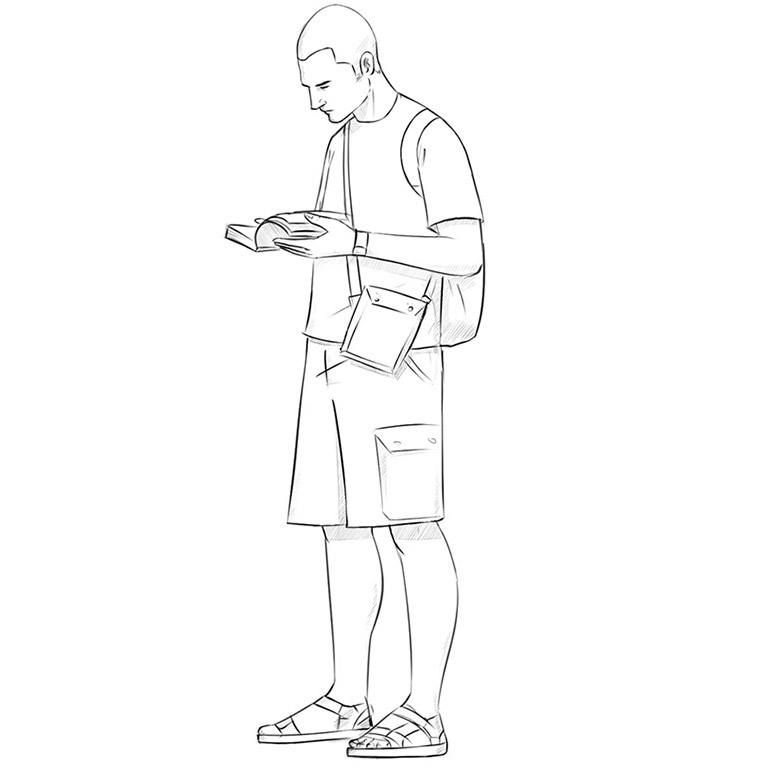 How to Draw a Tourist