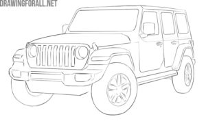 Jeep drawing