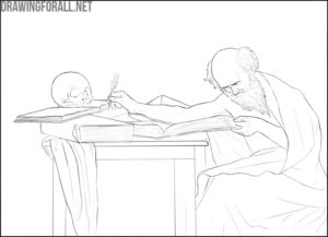 Composition in drawing