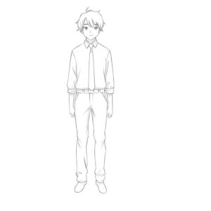 How-to-draw-anime-step-by-step-easy