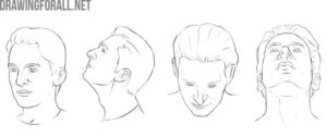 human head proportions in drawing