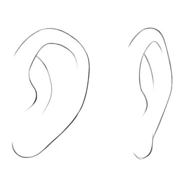 How to Draw Anime Ears