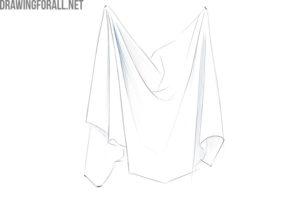 Step by step how to draw a Drape fold