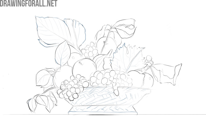 how to draw still life easy
