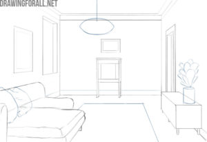 How to draw a room