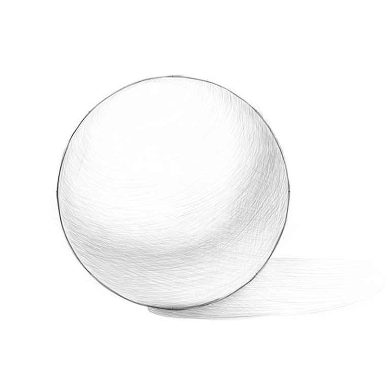 How to Draw a Realistic Ball