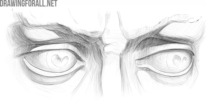 Eyes anatomy for artists