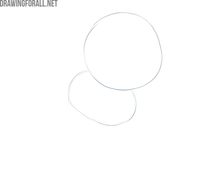 how to draw a cartoon cat full body