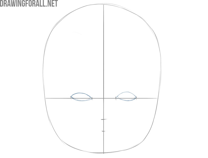 how to draw a baby face for beginners