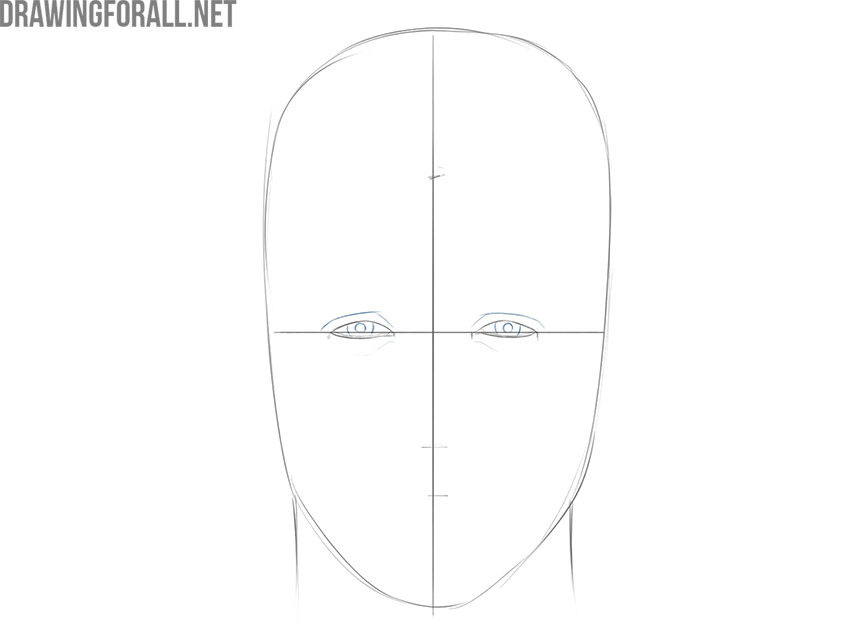 how to draw a face for beginners from sketch to finish