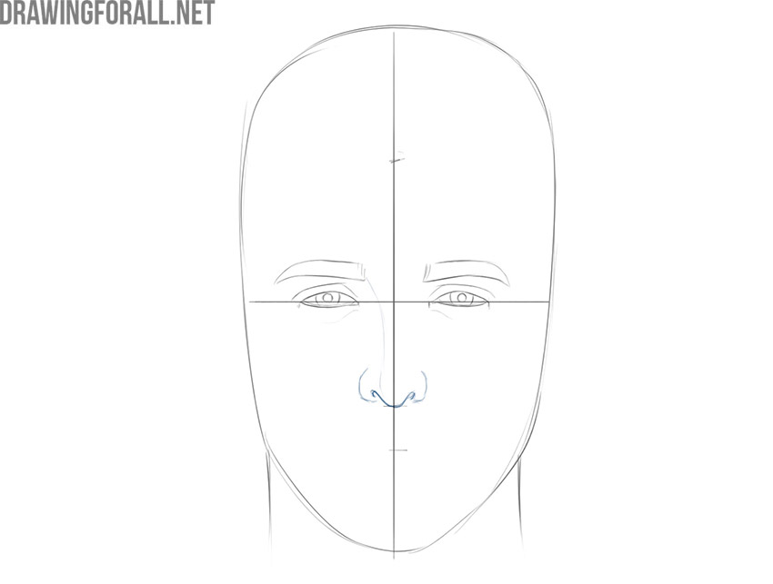 how to draw a realistic face for beginners step by step easy