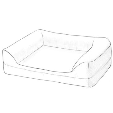How to Draw a Dog Bed