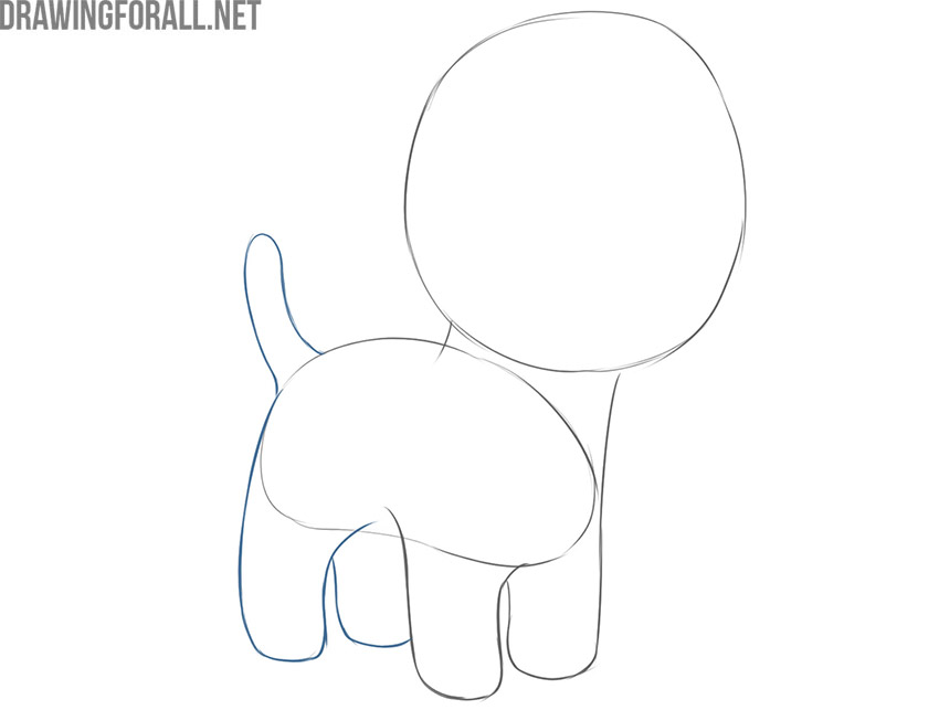 how to draw a dog simple and easy