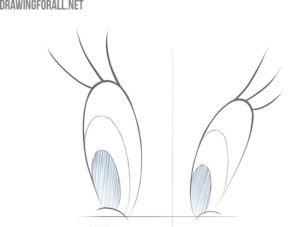 how to draw cartoon eyes easy