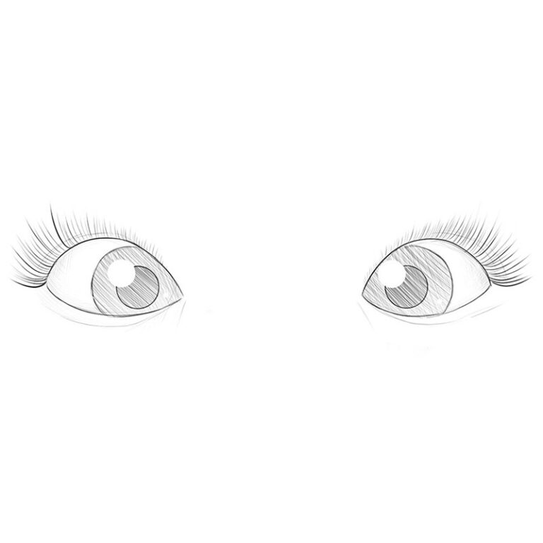 How to Draw Cute Eyes