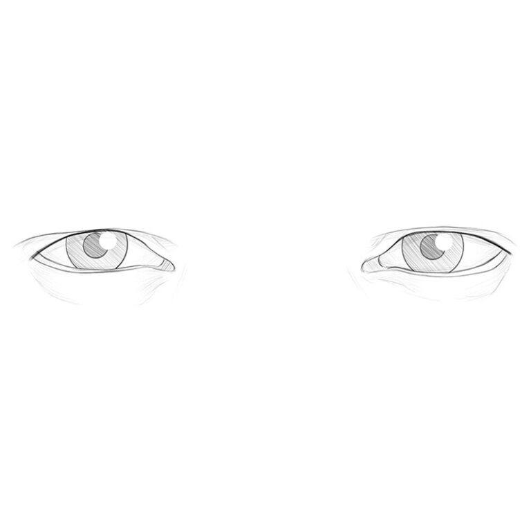 How to Draw Male Eyes