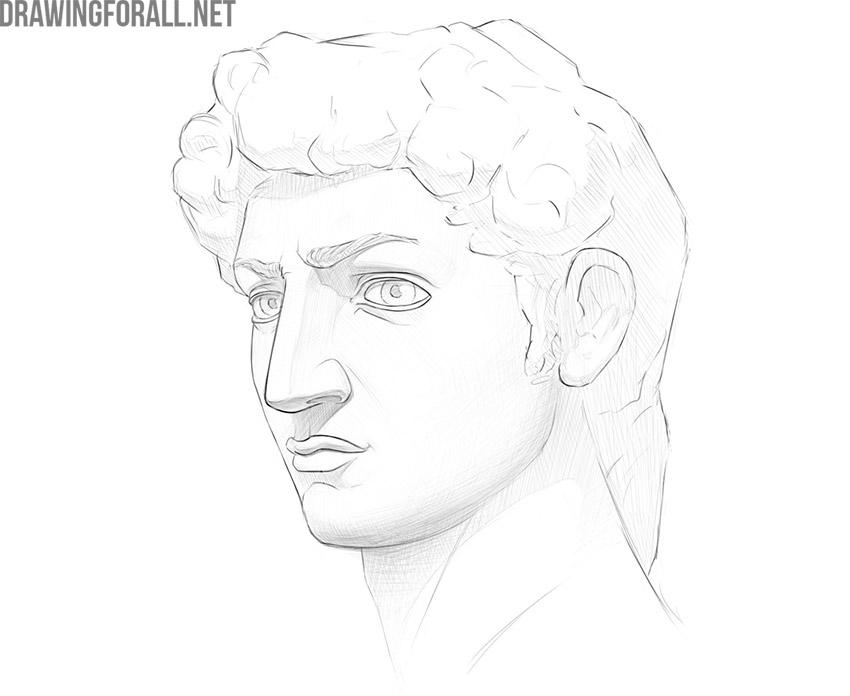 How to draw a portrait